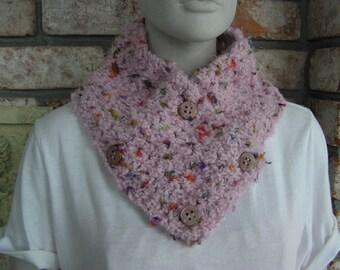Pink Cowl/Neckwarmer
