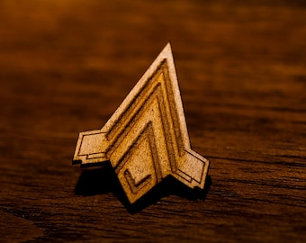 Battlestar Galactica - Junior Pilot Qualification Wings Pin