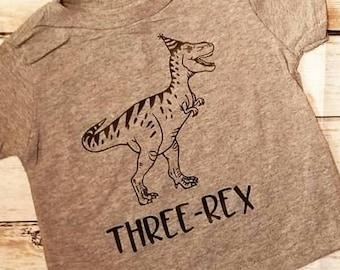 Three-Rex Toddler/Youth Shirt