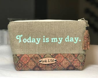 Today is my day-Essential oil bag