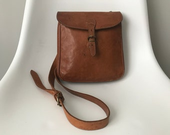 MOVING SALE: Il Bisonte Leather Crossbody Bag