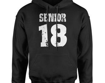 Seniors '18 Class of 2018  Adult Hoodie Sweatshirt