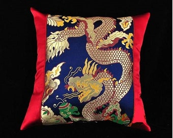 Chinese Silk & Embroidery  Sofa Pillow/Art/Decoration/Guarantee authentic