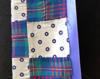 Handmade vintage junk journal travelers notebook insert