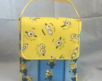Insulated Lunch Bag, Yellow Minions