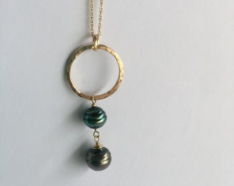 Kaua necklace 14k gold filled