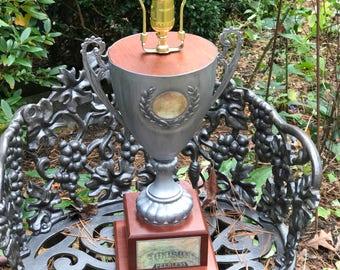 Your a winner trophy lamp