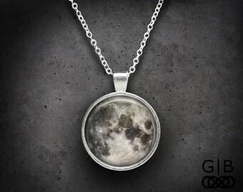 Moon Necklace Full Moon Pendant Full Moon Jewelry Gift - Full Moon Necklace Pendant - Moon Jewelry Full Moon Necklace Pendant Moon Jewelry