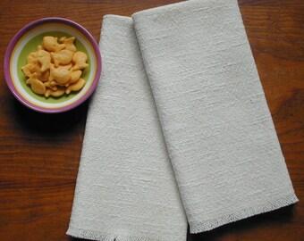 Handwoven Dinner Napkins, set of 2