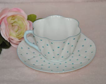 Shelley of England tea cup and saucer
