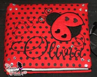 Personalized Ladybug Photo Album - Ladybug 1st Birthday - Ladybug Memory Book - Custom Ladybug - Personalized Album - Personalized Baby Book