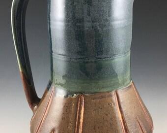 Narrow necked pitcher