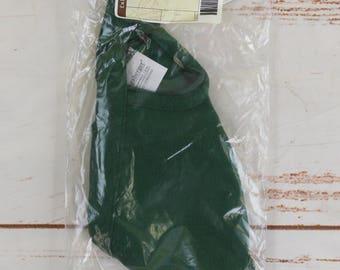 Longaberger Basket Fabric Liner Round Serving Tray - Ivy Green