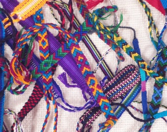 Friendship Thread Bracelets, 144 each, Fundraising Ideas, Fundraiser Package, Assorted, handwoven