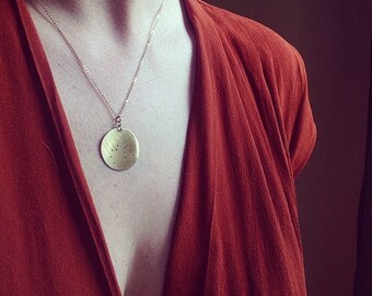 Constellation necklace//Lost Zodiac//Minimalist jewelry//Alternative Zodiac Sign//Birthday present//Bridesmaid gift//Gift for friend
