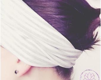 Pre-order headband reversible or plain bamboo customize