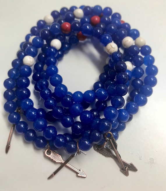Run Far Blues Bracelet