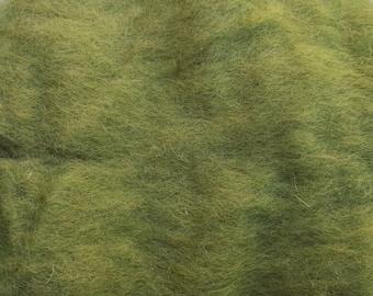 Wool Roving - Lily Pad - 1 oz