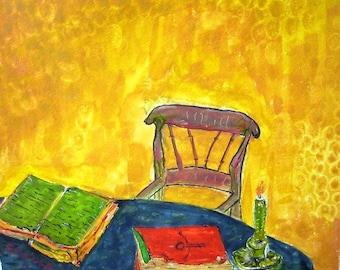 Books panting....Original SOLD