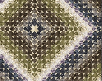 Hot Air Quilt Pattern in Three Sizes: Baby, Throw, and Full/Queen by Eye Candy Quilts