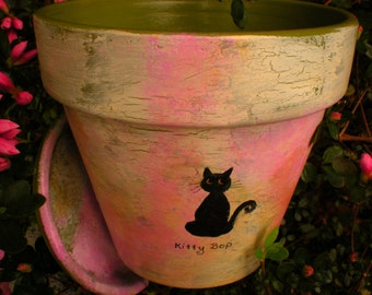 Dog Sympathy - Cat Sympathy - Sympathy Pet Gift - Flower Pot - Personalized - Pets Name - Pet Memorial Planter