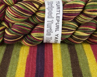 Autumn - Hand-dyed Self-Striping Sock Yarn