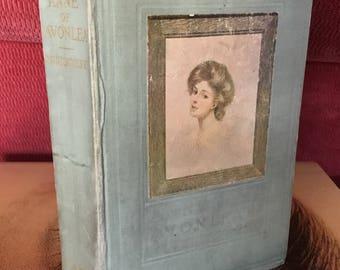 Antique book, AnneOf Avonlea book, L.M. Montgomery book, classic book, gift book, 1909 antique book