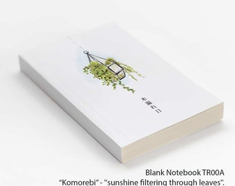 Blank Notebook TR00A