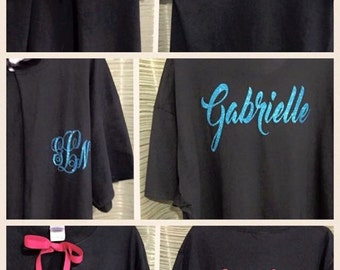 Personalized dance costume recital cover up