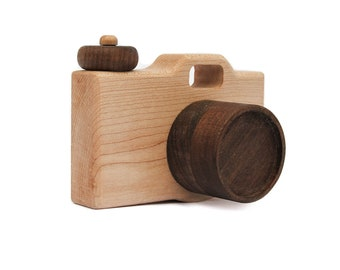Camera Toy - Wooden Camera Toy - Baby Shower Gift - Toddler Toys - Waldorf Toy