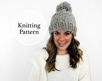 Knitting Pattern Pokomoke Hat Instant Download