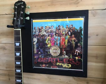 The Beatles - Sargent Peppers Lonley Hearts Club Band Record Album Jacket / Guitar Hanger