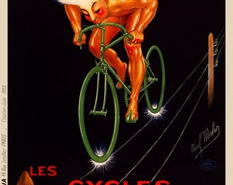 Cycles Wonder Bicycle Poster (#0481) 6 sizes