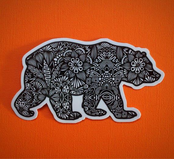 Full Bear Sticker