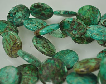 18 African Turqoise 25mm beads