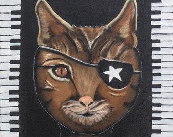 Cool Cat an Original Painting