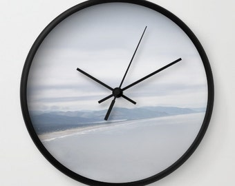 Beach Clock - Wall Clock - Oregon Coast Photo Clock - Made to Order