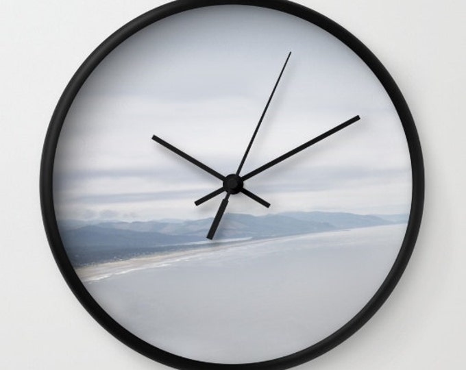 Beach Clock - Wall Clock - Oregon Coast Photo Clock - Made to Order