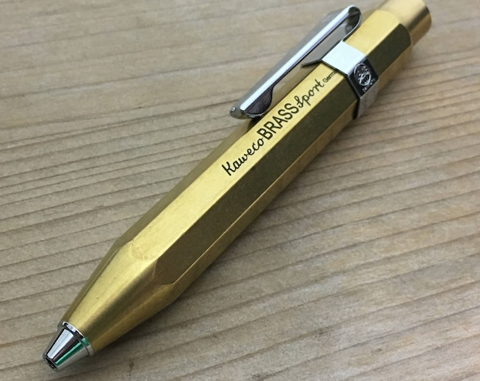 Edc Mechanical Pencil Kaweco / Solid Brass