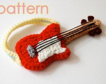 amigurumi pattern - guitar