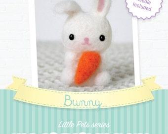 Bunny - DIY wol vilten kit