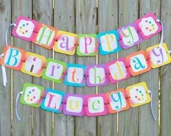 Art party Birthday Banner