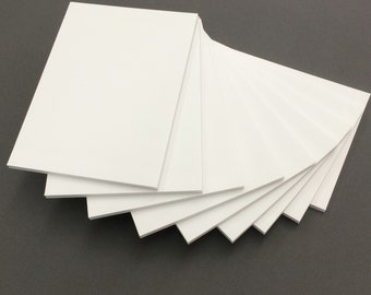 """These are 1/8"""" White Foam Core Backings for Pictures,  Matting, Framing and other Art projects 10 Sizes available"""