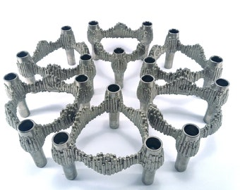 Quist Brutalist candle holders ... Variomaster ... set of six