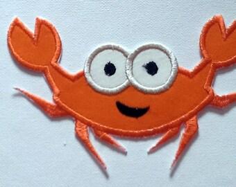 Fer bricolage sur Patch appliques, crabe heureux