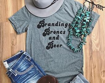 Brandings Broncs and Beer