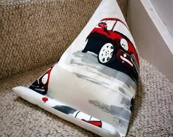 Tablet cushion, ipad stand, kindle cushion, Mini, Mini car, electronic stand, gift for him