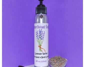 Lavender Vanilla Body Lotion (Paraben Free)