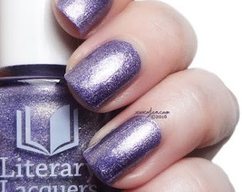 Lestat - Saturated Lilac Holographic Nail Polish