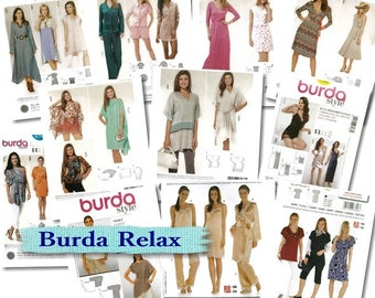 50%, 12 models, (Reg 8.99 -14.99), Burda, Women, 6-30, new, uncut.